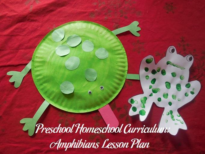 Amphibians Preschool Activities