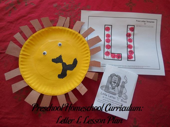 Letter L Preschool Activities