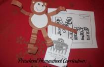 Preschool Homeschool Curriculum: Letter M Lesson Plan