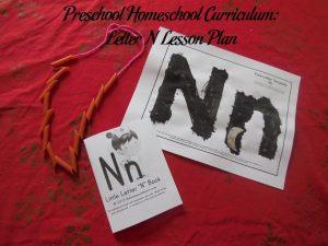 Letter N Preschool Activities