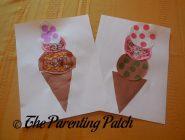 Paper Ice Cream Cones