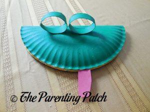 Paper Plate Lizard Craft