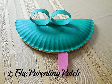 Paper Plate Lizard Craft