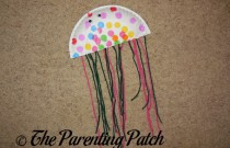 Paper Plate Jellyfish Craft
