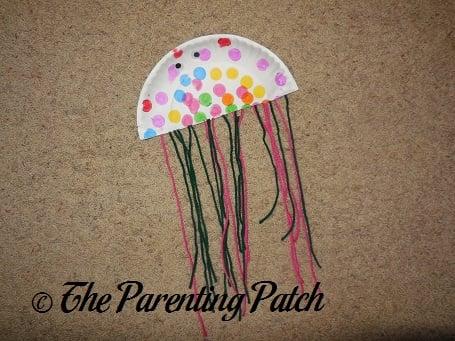 Paper Plate Jellyfish