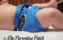 Indigo Imagine Newborn Diaper Cover: Daily Diaper