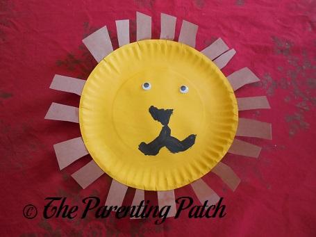 Paper Plate Lion Craft & paper plates - 4/5 -