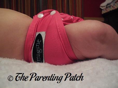 Raspberry Imagine Newborn Diaper Cover 5