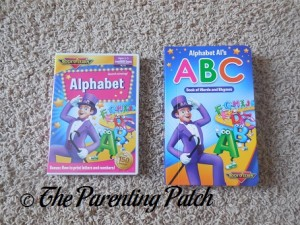 Alphabet DVD and Alphabet Al's ABC Board Book