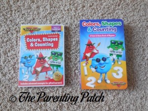 Colors, Shapes & Counting DVD and Colors, Shapes & Counting Board Book