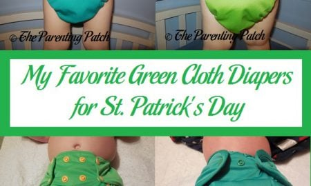 My Favorite Green Cloth Diapers for St. Patrick's Day