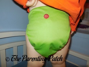 Apple Buttons Diapers Cover