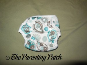 Front of Capri Newborn Diaper Cover
