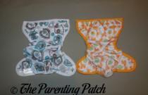 Capri Newborn Diaper Cover and Blueberry Mini Coverall Newborn Diaper Cover Comparison Review