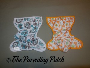Exteriors of the Capri and Blueberry Mini Coverall Newborn Diaper Covers