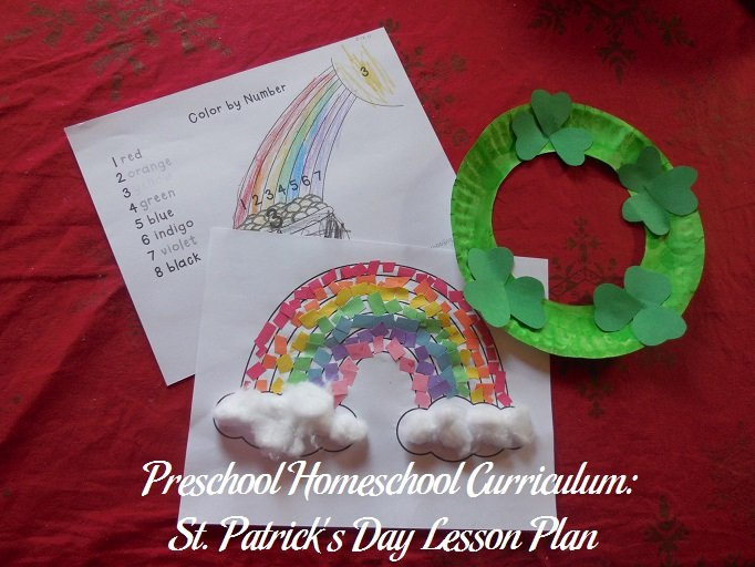 St. Patrick's Day Preschool Activities