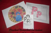 Preschool Homeschool Curriculum: Letter P Lesson Plan
