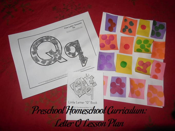Letter Q Preschool Activities
