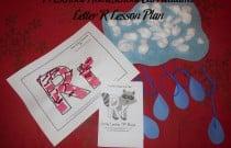 Preschool Homeschool Curriculum: Letter R Lesson Plan