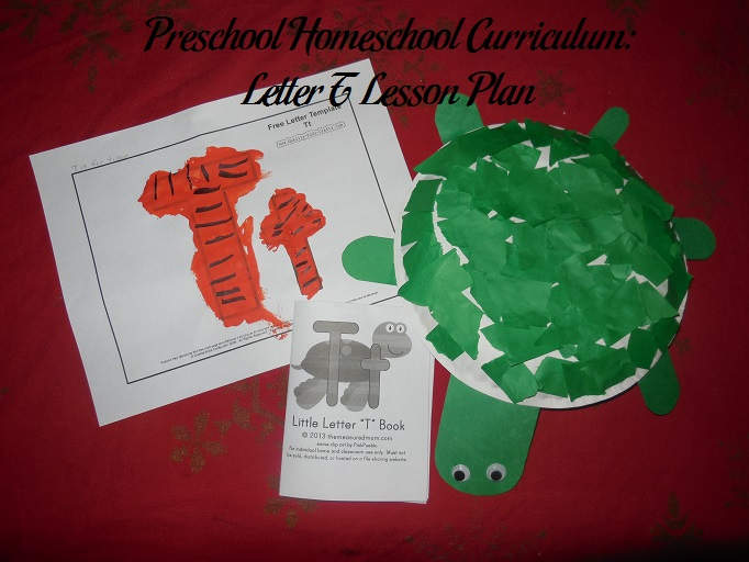 Letter T Preschool Activities