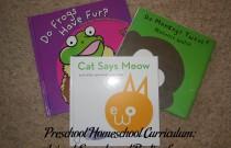 Preschool Homeschool Curriculum: Animal Sounds and Bodies Lesson Plan