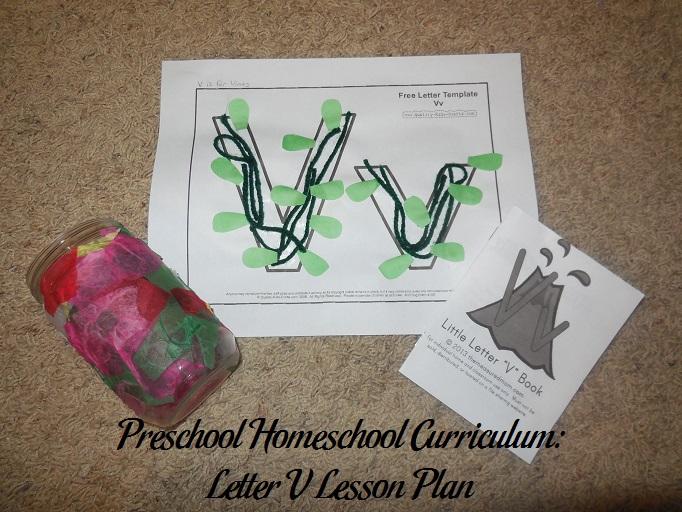 Letter V Preschool Activities