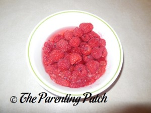 Raw Raspberries