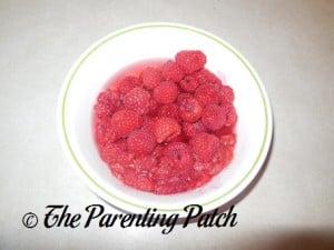 Raw Raspberries