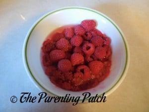 Cooked Raspberries