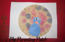 Coffee Filter Peacock Craft