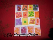 Construction Paper Quilt