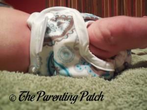 Paisley Capri Newborn Diaper Cover 5