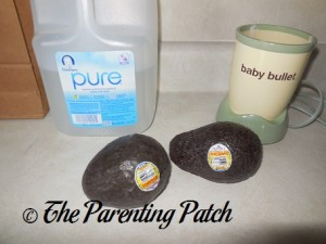 Baby Water and Organic Avocados