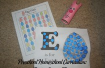 Preschool Homeschool Curriculum: Easter Lesson Plan