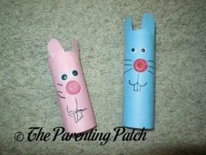Toilet Paper Roll Bunnies