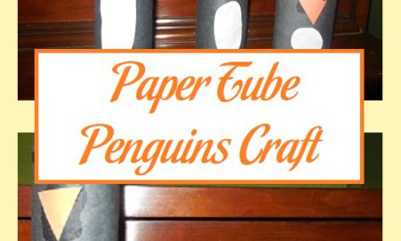 Paper Tube Penguins Craft