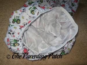 Elastic of Farm ecoAble Cloth Diaper Pail Liner