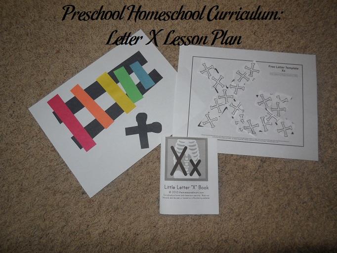 Letter X Preschool Activities