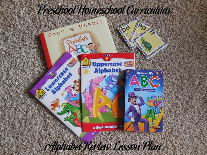 Alphabet Review Preschool Activities