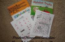 Preschool Homeschool Curriculum: More Alphabet Review Lesson Plan