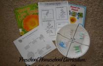 Preschool Homeschool Curriculum: Plant Life Cycle Lesson Plan