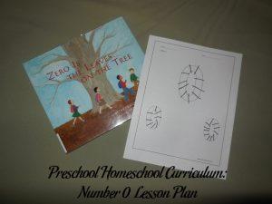 Number 0 Preschool Activities
