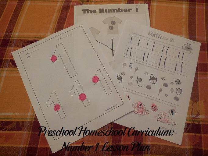 Number 1 Preschool Activities
