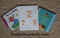 Preschool Homeschool Curriculum: Number 2 Lesson Plan