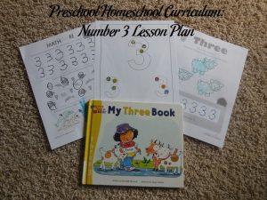 Number 3 Preschool Activities