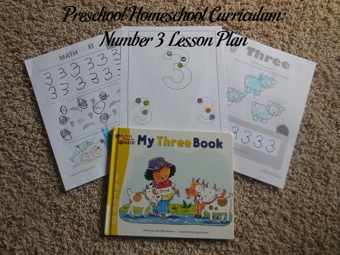 Number 3 Preschool Activities