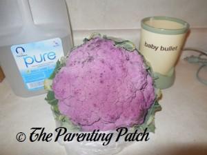 Baby Water and Purple Cauliflower