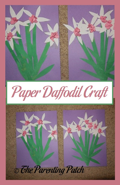 Paper Daffodil Craft