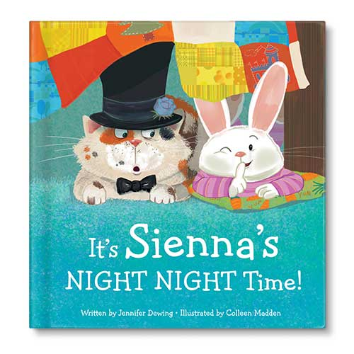 Cover of 'My Night Night Time' from I See Me! Personalized Children's Books