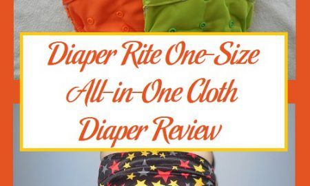 Diaper Rite One-Size All-in-One Cloth Diaper Review